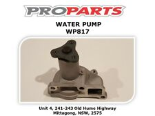 FORD LASER KA KB KC KE 1981 - 1989 1.3 & 1.5 LTR WATER PUMP - WP817
