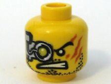 x1 NEW Lego Minifig Head Alien w/ Mechanical Right Eye TERMINATOR