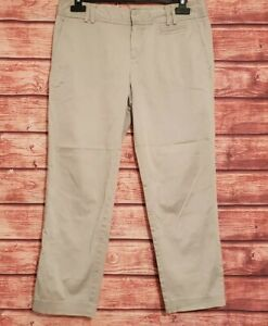 BANANA REPUBLIC Size 8 Trousers Light Brown CHINOS Casual VGC Women's Ladies 26L