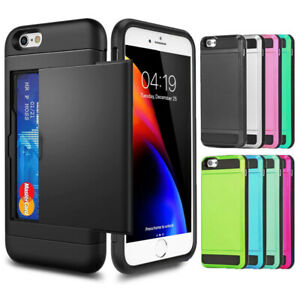 iPhone XS XR MAX 8 7 Plus Case Cover Shockproof Slide Heavy Duty for Apple