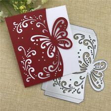 Butterfly Envelope Metal Cutting Dies Stencil Scrapbook Embossing Album Card DIY