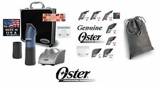 Oster PowerPro ULTRA CORDLESS CLIPPER KIT w/#10&40 Blade,2-Battery,7-Combs&Case