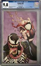 Avengers (2018) #687 CGC 9.8 Campbell Venom 30th Anniversary Virgin Variant!