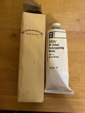 Windsor & Newton Oil Colour Underpainting White Vintage