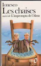 Eugène Ionesco - Les chaises - L'impromptu de l'Alma