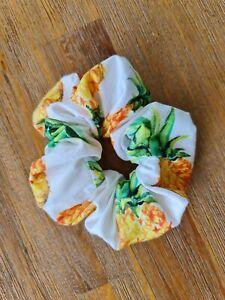 Pineapple Print Hair Scrunchie (Aus Made)