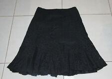 Womens size 14 pretty black broidery englaise skirt made by TARGET