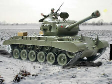 NEW Heng Long 1:16 M26 Pershing Snow Leopard BB RC Tanks Upgraded 2.4GHz Version