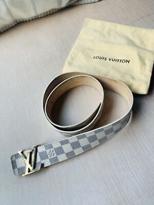 Authentic Louis Vuitton LV Monogram Women's Belt Size 90/36 (S)