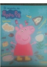 Album Peppa Pig World 162 Lot Stickers Not Reapet with Album