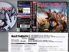"IRON MAIDEN The Trooper JAPAN 5"" MAXI CD TOCP-40181 w/COUPON OBI+INSERT Free S&H"