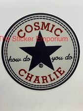 Cosmic Charlie Grateful Dead & Company UV Vinyl Sticker Car Laptop Tumbler Decal