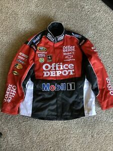 Nascar Jacket Office Depot Bass Pro Haas Racing Size XL Excellent condition