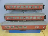 "VINTAGE (42mm) 1.625""  3 x HAND MADE COACHES"