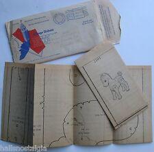 Chicago Tribune Toy Pattern in original envelope (stuffed horse)