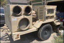 Applied Technologies 23kw Military Generator W Schutte Trailer 1 Amp 3 Phase