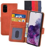 Klapp Hülle Schutz Tasche Book Case Cover Handyhülle für Samsung Galaxy S20 Plus