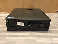 HP Z210 SFF Workstation Xeon E3 1225 4 x 3.10GHz 4GB 500GB DVD-RW PC Computer