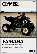 CLYMER Repair Service Manual Yamaha Raptor 660R 2001-2005 M280-2