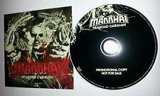 MANNHAI Hellroad Caravan | cardboard CD new | Heaviest rock from FIN. Amorphis
