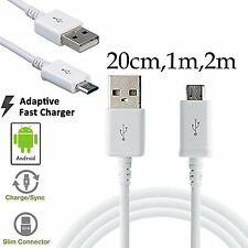 Lightning data charger micro usb cable Samsung Galaxy Pre-2016 A3 A5 A7 A8 A9