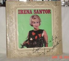 IRENA SANTOR ZAPAMIETAJ ZE TO JA REMEMBER IT WAS ME 33LP MUZA 1968 STEREO POLAND