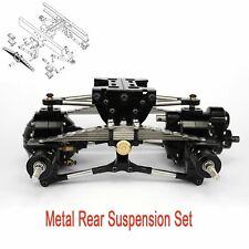 StainlessSteel LESU Metal Rear Suspension for 1/14 TAMIYA Truck Axles DIY Model