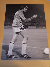 Ray Clemence Signed 12x8 Tottenham Hotspur FC Photo - Private Signing - Proof