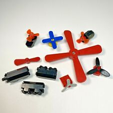 LEGO Propeller Blades Airplanes Helicopter and 3 Aircraft Engines