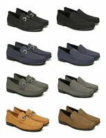 Mens Casual Smart Slip On Shoes Office Loafers Designer Dress Driving New Size