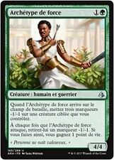 MTG Magic AKH - (x4) Exemplar of Strength/Archétype de force, French/VF
