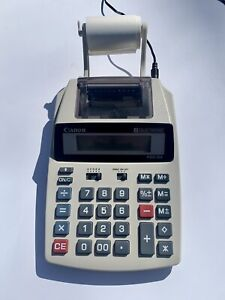 Canon P23-DH Desktop Calculator Retro Wall Street Retail TESTED WORKS GREAT!