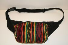 Wholesale 10 Rasta Guatemalan 1990's Fanny Pack Lot  Hippie Boho Unisex L2