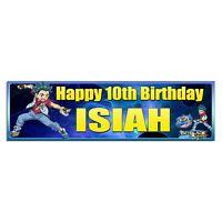 Personalized & Custom Printed Beyblade Burst Birthday Party Banner Poster Decor