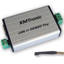 KMtronic LAN DS18B20 WEB 1-Wire Digital Temperatura Monitor