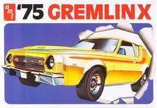 AMT 1975 AMC Gremlin X 1/25 plastic model car kit new 768