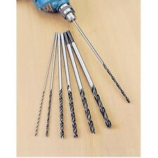 "12"" Extra Long Brad Point Drill Bits 4 Pocket Hole Jig 1/8 3/16 1/4 5/16 3/8 1/2"