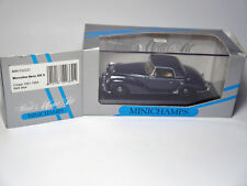 Mercedes W 188 300 S Coupe blau bleu blu dark blue, Minichamps 032321 1:43 BOXED