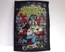 ANTHRAX BLACK BORDER  WOVEN  PATCH