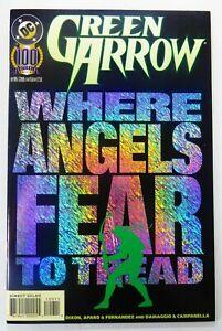 DC GREEN ARROW (1989) #100 Key FOIL Cover VF (8.0) Ships FREE!