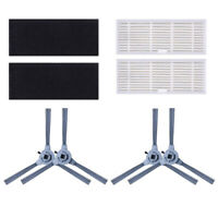 6pcs/Set Filter Side Brushes For Coredy R550 R650 R700 Vacuum Cleaner Tool Parts