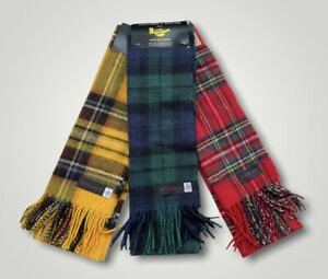 Dr Martens - Traditional Tartan Scarfs Made From Lambs Wool / Choice - 3 Colours