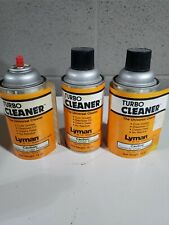 Lyman Turbo Cleaner- 3 new cans
