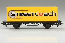 H0 Märklin Container Load Car Streetcoach Dirt/Scratches without Original Box