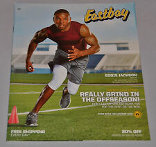 MINT! Eastbay Catalog EDDIE JACKSON Cover CHICAGO BEARS May 2017 Alabama