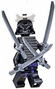 new LEGO Ninjago Legacy Minifig - Lord Garmadon with katanas