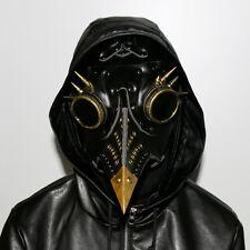Plague Doctor Mask Bird Beak Spike Steampunk Punk Gothic Halloween LARP Cosplay