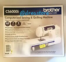 Brother Wide Table Sewing Quilting Machine CS6000i Built-In Stitches Sealed Box