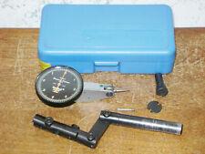 Brown Amp Sharpe 00005 Inch Dial Indicator With Case Alina Dog Leg Indicator Holder