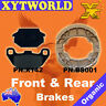 FRONT REAR Brake Pads Shoes KYMCO Agility 125 Carry 4T 2011 2012 2013 2014 2015
